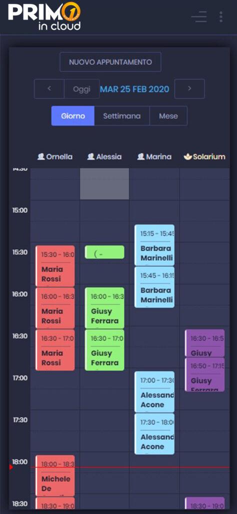Agenda Web Mobile