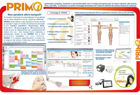 primo beauty wellness software estetisti