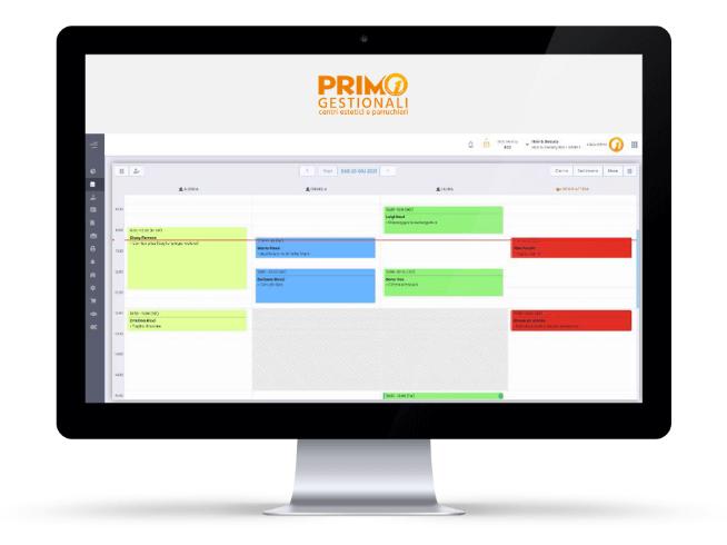 agenda appuntamenti digitale Primo Software