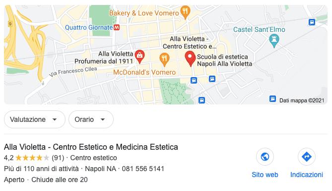 Apri una scheda Google My Business